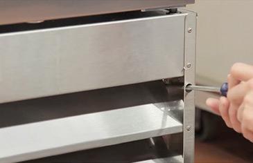 Loskoppel koelapparatuur
