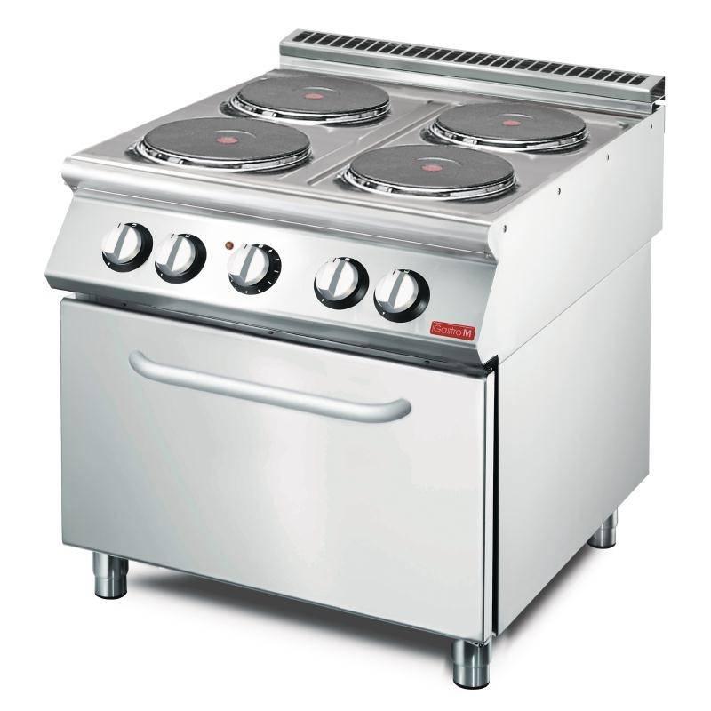 Cucina Elettrica Gastro M Con Forno Ventilato 70 80 Cfe