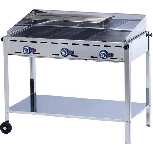 Hendi Green Fire Profi Line barbecue, 4 burners