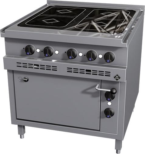 Mkn Induction Stove With 2 1 Gn