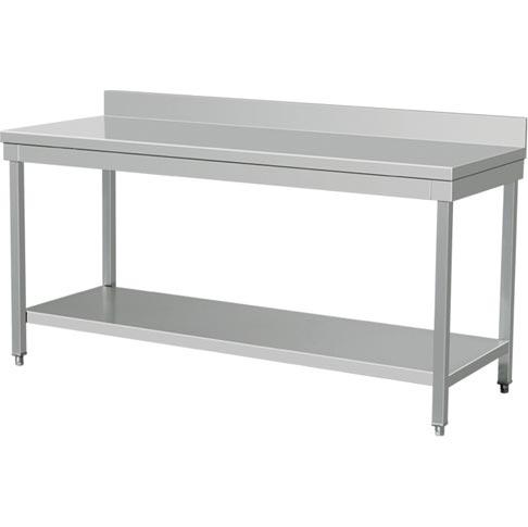 Stupendous Saro Rvs Werktafel Felicitas 1600 Flatpack Machost Co Dining Chair Design Ideas Machostcouk