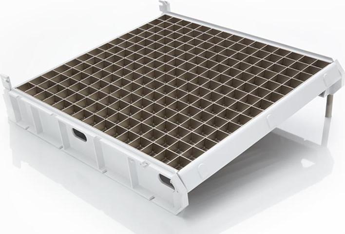 Machine à glaçons Scotsman en acier inoxydable, refroidie