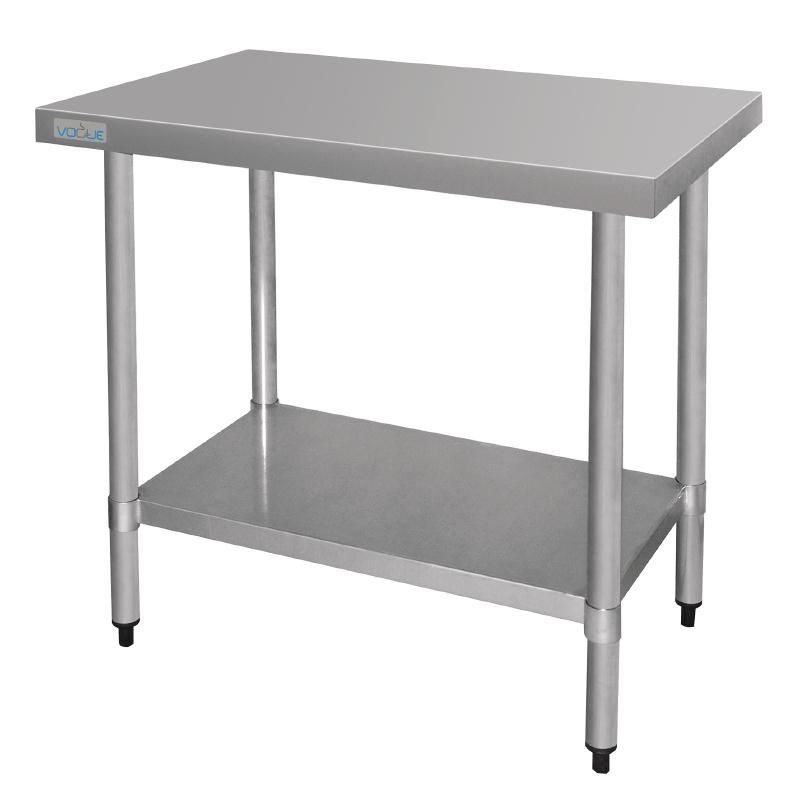 Vogue Stainless Steel Work Table