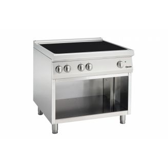 Electric Teppanyaki grill with open stand Model TE | Saro