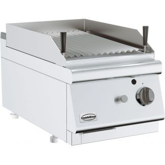 Combisteel Base 700 lava rock grill gas single table model