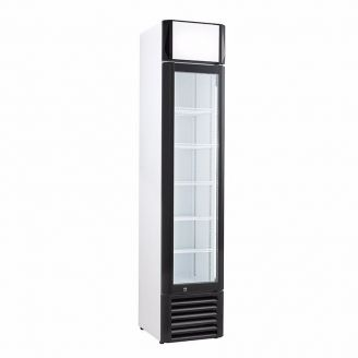 Coolselect glasdeur koelkast - 390 mm breed