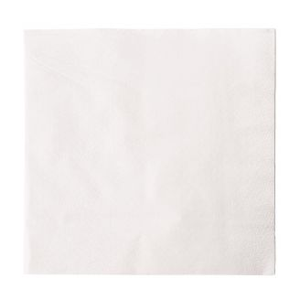 White Lunch Napkins 330 x 330mm (Pack of 5000)