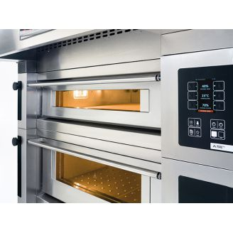 Moretti Forni pizza oven - 1 room, 10 pizzas or 2 grates 600x400 mm