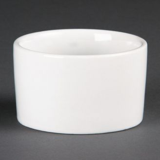 Olympia Whiteware contemporary ramekins 9 cm