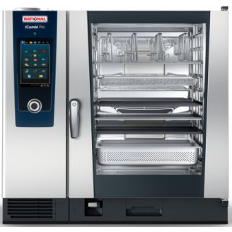 Rational iCombi Pro 10-2/1G - Gas Combisteamer