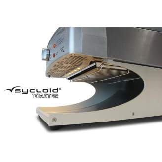 Roband Sycloid grill toaster - bandbroodrooster met bun functie - RVS
