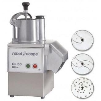 Robot Coupe Groentesnijder CL50 Ultra Pizza 230V, Snelheid 375 tpm