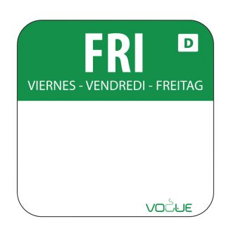 Vogue soluble food labels color code Friday (role 1000)