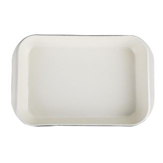 Vogue rectangular dish black 40.5 x 25 cm